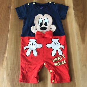 Other - Mickey Mouse Cotton Playsuit 2 sizes available